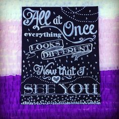I See The Light from Tangled Hand Painted Chalkboard Canvas Art - Baby Shower Gift, Nursery or Playroom Decor on Etsy, $40.00