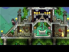 Terraria 1.3 Building Competition Results - YouTube Terraria House Design, Terraria House Ideas, Sims House Design, Biomes, Sandbox, I Can Not, Terrarium, Fountain, Adventure Game