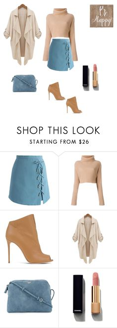 """""""Be happy"""" by francy78 on Polyvore featuring moda, Chicwish, Casadei, The Row, Chanel e Belle Maison"""