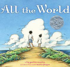 """All The World"" by Elizabeth Scarton Scanlon http://hpl.plum.lib.il.us/search~S0?/tAll+the+world/tall+the+world/1%2C10%2C15%2CB/frameset=tall+the+world&1%2C%2C4"