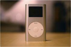 iPod mini.