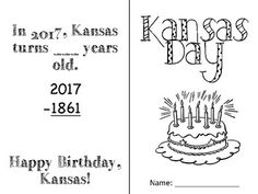2017 Kansas State Symbols Booklet Source by kldemott Kansas Day, First Grade, Social Studies, Booklet, Mammals, Symbols, Activities, Burlap Wreath, Preschool