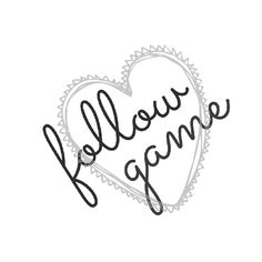 ¤ Follow Game ¤ ¤ GOAL: 600 LIKES -> FG!! ¤ Other