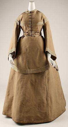 Dress 1970, American, Made of silk