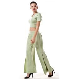 36f9f63f023c 47 The Best Ways To Wear Wide Leg Pants For Young Women Ideas