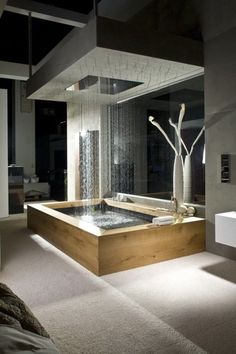dream bathrooms Today we select 5 Modern Bathroom Design to 2018 that you'll fall in love with. We can have environments with modern but eccentric styles wich will differenciat Dream Bathrooms, Beautiful Bathrooms, Luxury Bathrooms, Modern Bathrooms, Modern Luxury Bathroom, Hotel Bathrooms, Master Bathrooms, Bathroom Mirrors, Bathroom Cabinets