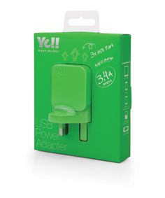UA5343B in green @ Ye!! #UA5343 #USB #adapter #charger #green