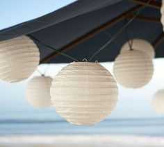 Outdoor String Lights With Solar Power