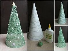 manualidades de arbolitos de navidad para niños - Buscar con Google