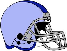 Football helmet color key from Darryl's Stained Glass Patterns