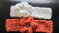 Olena's Crafts: Free Crochet Pattern Baby Toddler Child Headband with Flower