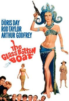 Doris Day movie  The Glass Bottom Boat. This is actually a spy movie. It is my mom's favorite movie with Doris Day and I must say I am partial to it as well. Give it a watch. 5 of 5