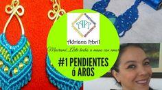 # 1 PENDIENTES ó AROS ✿DIY EARRINGS ✿BRINCOS ✿BOUCLES D'OREILLES ✿CERCEI...