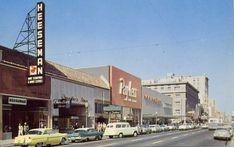 Old Street Scenes Lounge Sacramento City, Sacramento California, Vintage California, California Dreamin', Usa Street, Street Mall, Street View, San Diego, San Francisco