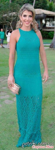 Платье от модного дизайнера Джованны Диас. Платье получило название Эрика. Схемы предлагает Натало4ка с Осинки. Расположение схем: А вот и сами схемы:  И всевозможные расцветки: