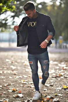 23 best Running Shoes with Jeans Outfits - Outdoor Click Summer Fashion Outfits, New Outfits, Casual Outfits, Men Casual, Moda Formal, Look Man, Photography Poses For Men, Shoes With Jeans, Super Skinny Jeans
