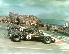 Jim Clark e Graham Hill 1-2 Lotus 49 USGP 1967
