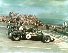 Jim Clark e Graham Hill 1-2 Lotus 49 USGP 1967
