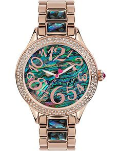 AU NATURAL ABALONE DETAILED WATCH MULTI accessories jewelry watches fashion