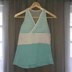 LuLuLemon Tank Yoga Athletic LuLuLemon Tank Size 8. Form fitted as opposed to free flowing! lululemon athletica Tops Tank Tops
