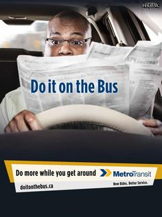 Halifax Regional Municipality, Metro Transit: Do It On The Bus, Newspaper