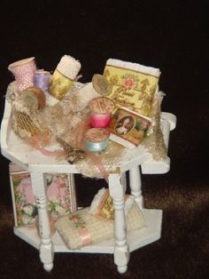 Dollhouse Miniature Handmade Home Furniture by ANABELAMINIATURES