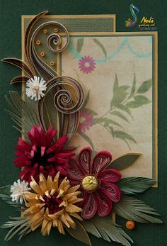 Neli is a talented quilling artist from Bulgaria. Her unique quilling cards bring joy to people around the world. Quilling Work, Paper Quilling Flowers, Neli Quilling, Quilled Paper Art, Quilling Paper Craft, Quilling Cards, Paper Crafts, Quilling Patterns, Quilling Designs