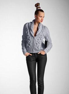 Bergere de France knitting patterns, Bergere de France Merino Jacket 311.63, Merino Jacket, from Laughing Hens