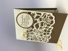 Stampin Up Quick & Easy NEW Detailed Floral Thinlits - YouTube Created by Wendy from Perfectly Gorgeous Papercraft