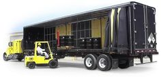 """Need Cross Docking For Flatbeds To Curtain Vans? Flatbed trailers are the best method to carry loads that are difficult or not practical to transport in a regular enclosed dry van. Some examples of flatbed freight would be: Large Equipment Building Materials Large Machinery Flatbeds allow for greater dimensional flexibility, which makes them the very best and the safest option for these types of large or heavy loads. We can deal with all your """"l"""