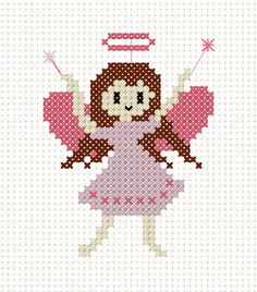 FAIRIES CROSS STITCH PATTERNS - Patterns 2013