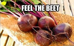 Feel the beet!