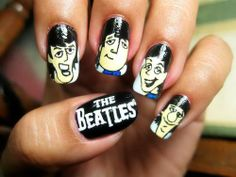 The Beatles on nail<3