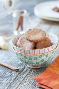 These gingersnap cookies are a must-make.