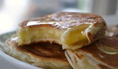 Apple Fritter Pancakes - Dinner with Julie