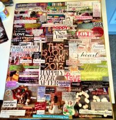 My 2013 Vision Board