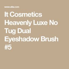 It Cosmetics Heavenly Luxe No Tug Dual Eyeshadow Brush #5