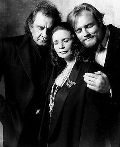 Johnny Cash & June Carter Cash & son