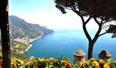 Amalfi Coast in Italy via Swide