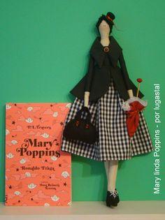 Projeto boneca Mary linda Poppins
