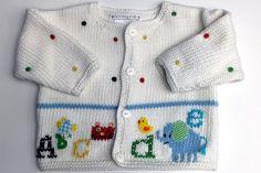 Artwalk Alphabet Soup Cotton Sweater