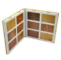 WB026 Flooring Laminate wood Cardboard sample book