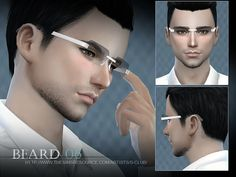 Beard for men, 6 colors, hope you like, thank you :DD  Found in TSR Category 'Sims 4 Facial Hair'