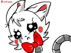 Five Nights at Freddy's 2 why do you hurt me? GIF