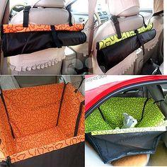 Cachorro de Estimação Gato anti-dirty Carro Impermeável Cobertura de assento Hammock tapete protetor de transportadora