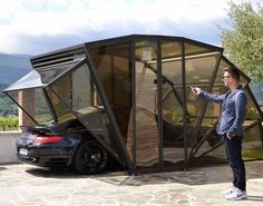 Fancy - Gazebox Folding Garage