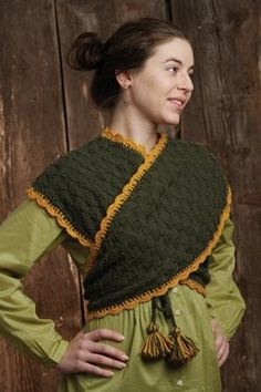 sontag from the Godeys pattern....this is the one I made for the Piecework article