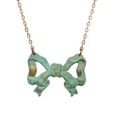 Bow Necklace, $30, now featured on Fab.