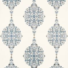 The Schumacher fabric collection is a great way to add Asian or European influence into your home's decor.