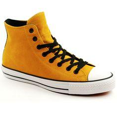 Converse CTAS Pro Hi Suede Yellow-Black. Suede ConverseSkateboard ShopNike  ... dbcfe90a3